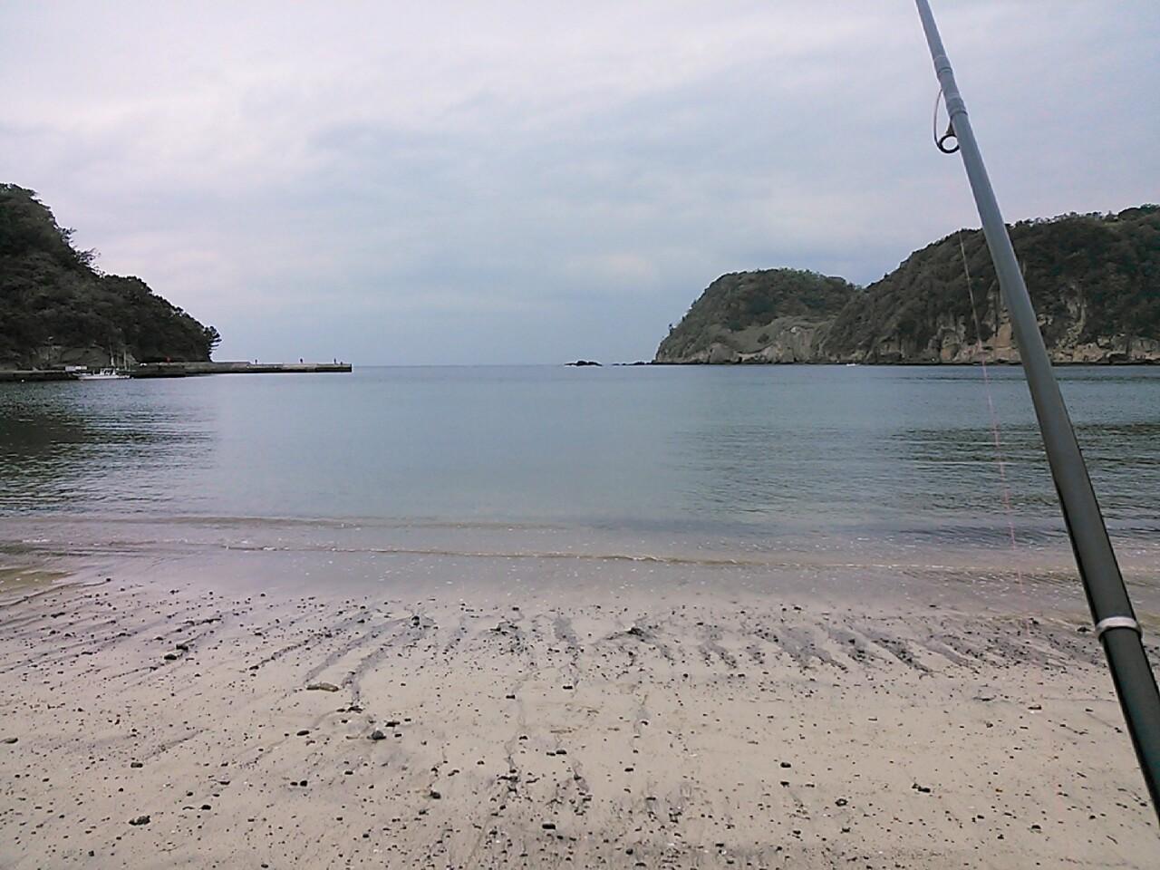 美しき砂浜は